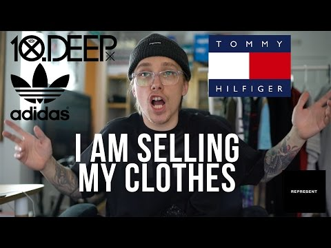 Selling My Clothes | Tommy Hilfiger, 10 Deep, Represent, Adidas & Nike