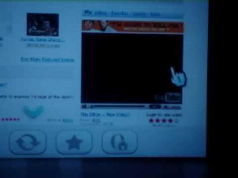 Wii Internet Channel (YouTube)