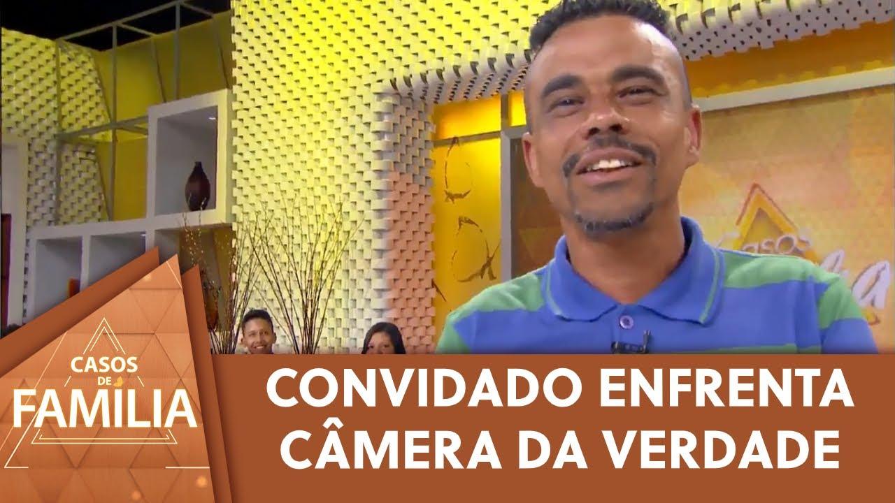 Convidado enfrenta a câmera da verdade | Casos de Família (18/09/20)