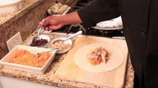 Chicken & Spanish Rice Burrito Recipe : Easy, Flavorful Recipes