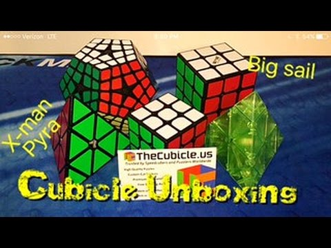 TheCubicle.us Unboxing!!! (X-man Bell, Big Sail, etc!)