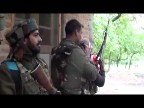 Shopian SSP Shailendra Mishra Appeals To Holed-Up Militants To Surrender In Ongoing Encounter