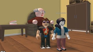 ROBLOX: MY MOM AND I RAN AWAY FROM GRANDPA'S MESSY, CRAZY HOUSE! (Escape Grandpas House Obby!)