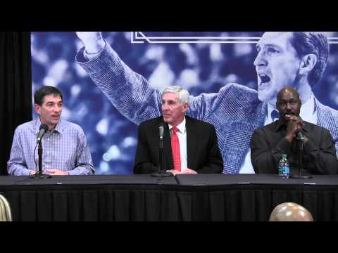 "Jerry Sloan honored with retired ""number"" by Utah Jazz"