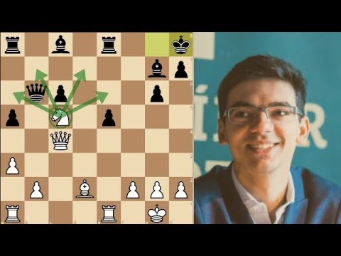 Anish Giri's positional crush results in 3-way tie at the top after 8 rounds in Tata