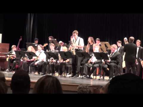 Creekside High School Jazz Band I - Tank by The Seatbelts
