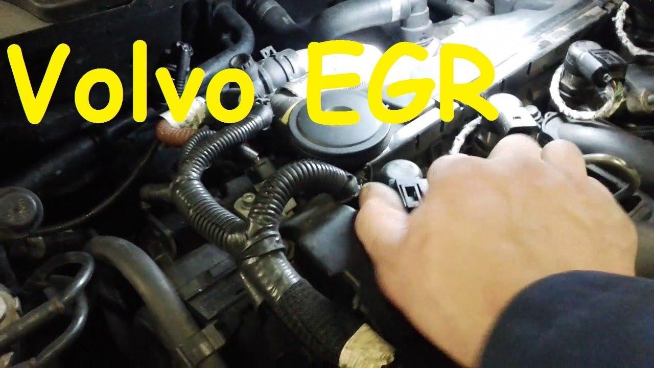 Volvo Egr Volvo V50 Egr Volvo Egr Delete Volvo Egr Valve Cooler Youtube