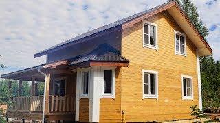 Дом из бруса 7х8 Проект №94 - внутренняя отделка(, 2015-08-24T12:43:25.000Z)