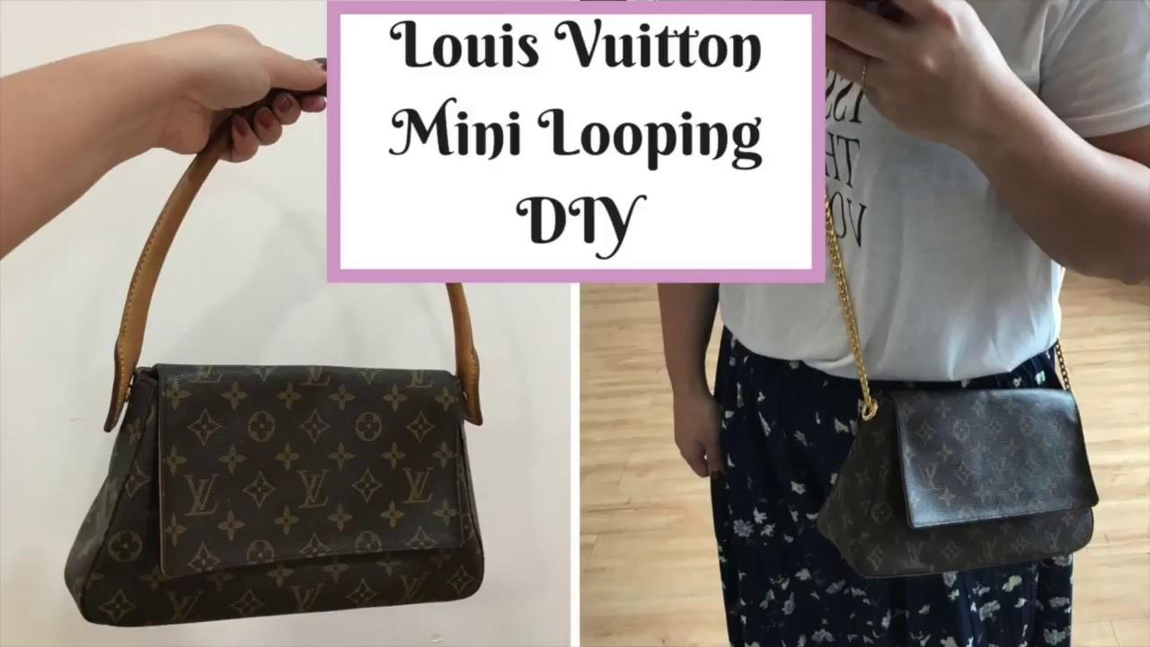 8646d8483e23 Louis Vuitton Mini Looping DIY - YouTube