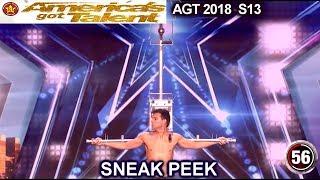 AGT 2018 SNEAK PEEK Lord Nil Heart Stopping Escape from Venomous Scorpions America's Got Talent 2018