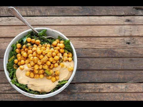 Harvest bowl with Chickpeas, Vegetables Veggies