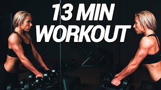 #MotivationMonday 13 min Power Workout -  downloaden und nachmachen!
