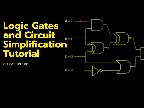 logic gates and circuit simplification tutorial Wiring- Diagram