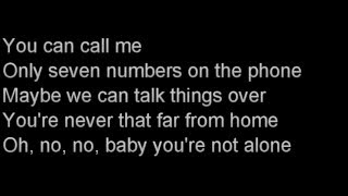 Call Me by Dennis DeYoung karaoke with lyrics