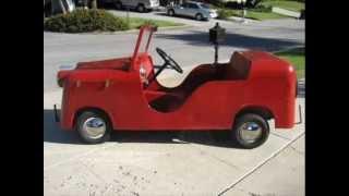 For Sale 1942 Carter Townshopper Micro Car $7,500