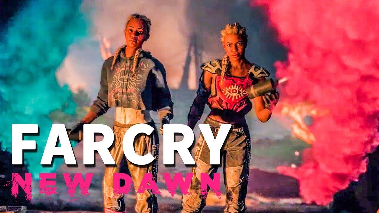 Far Cry New Dawn Twins Death Cutscene Final Youtube