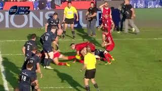 Yoann Huget masterclass vs Leinster