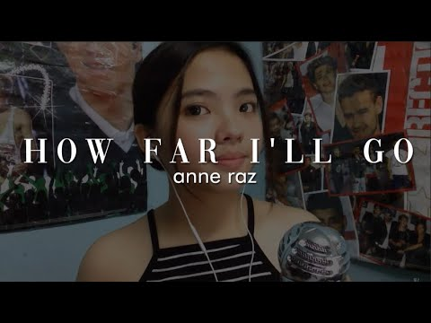 "Disney's Moana - ""How Far I'll Go"" cover"