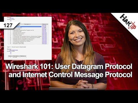 Wireshark 101: User Datagram Protocol and Internet Control Message Protocol, Haktip 127