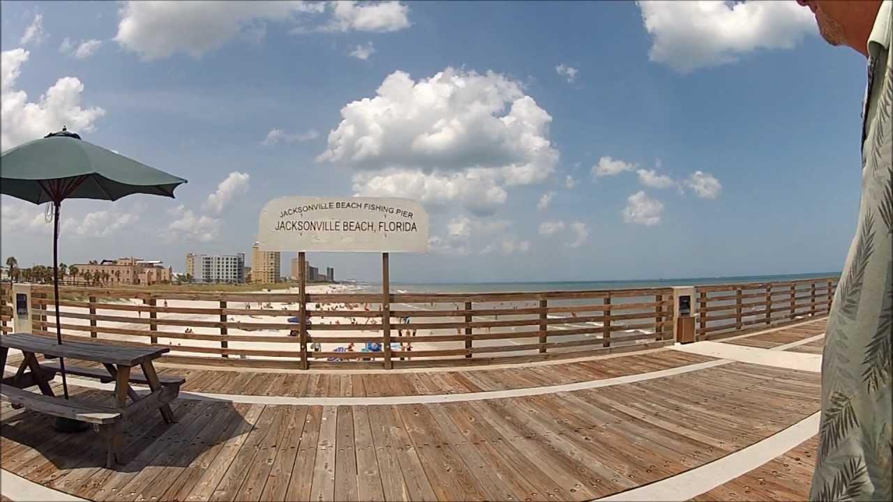 jacksonville beach florida the pier youtube. Black Bedroom Furniture Sets. Home Design Ideas