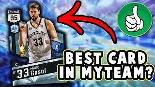 Diamond events marc gasol stats!! the best card in nba 2k17 myteam