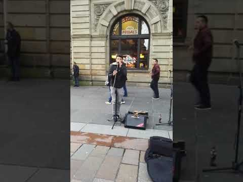 Ross Anderson at Buchanan Street glasgow