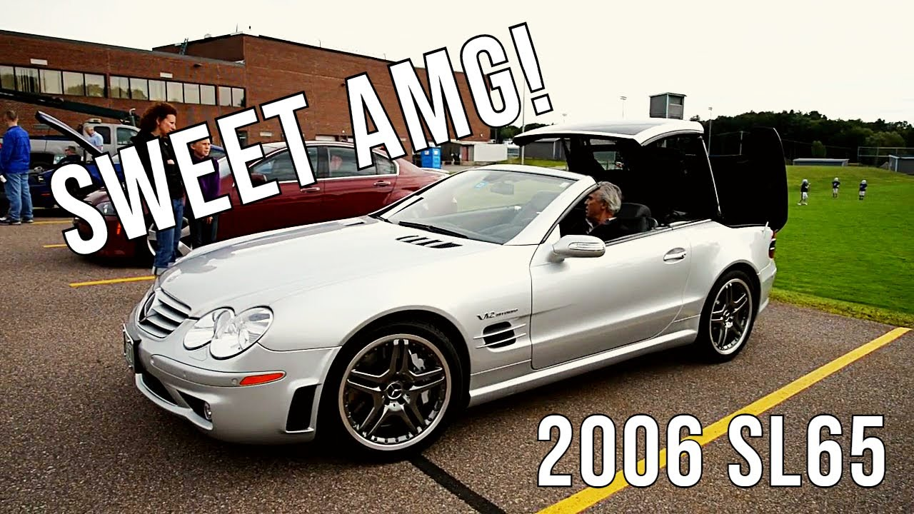 2006 mercedes benz sl65 amg retractable hardtop youtube