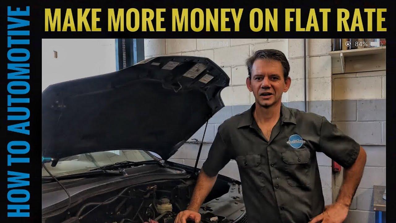 flat rate auto mechanic