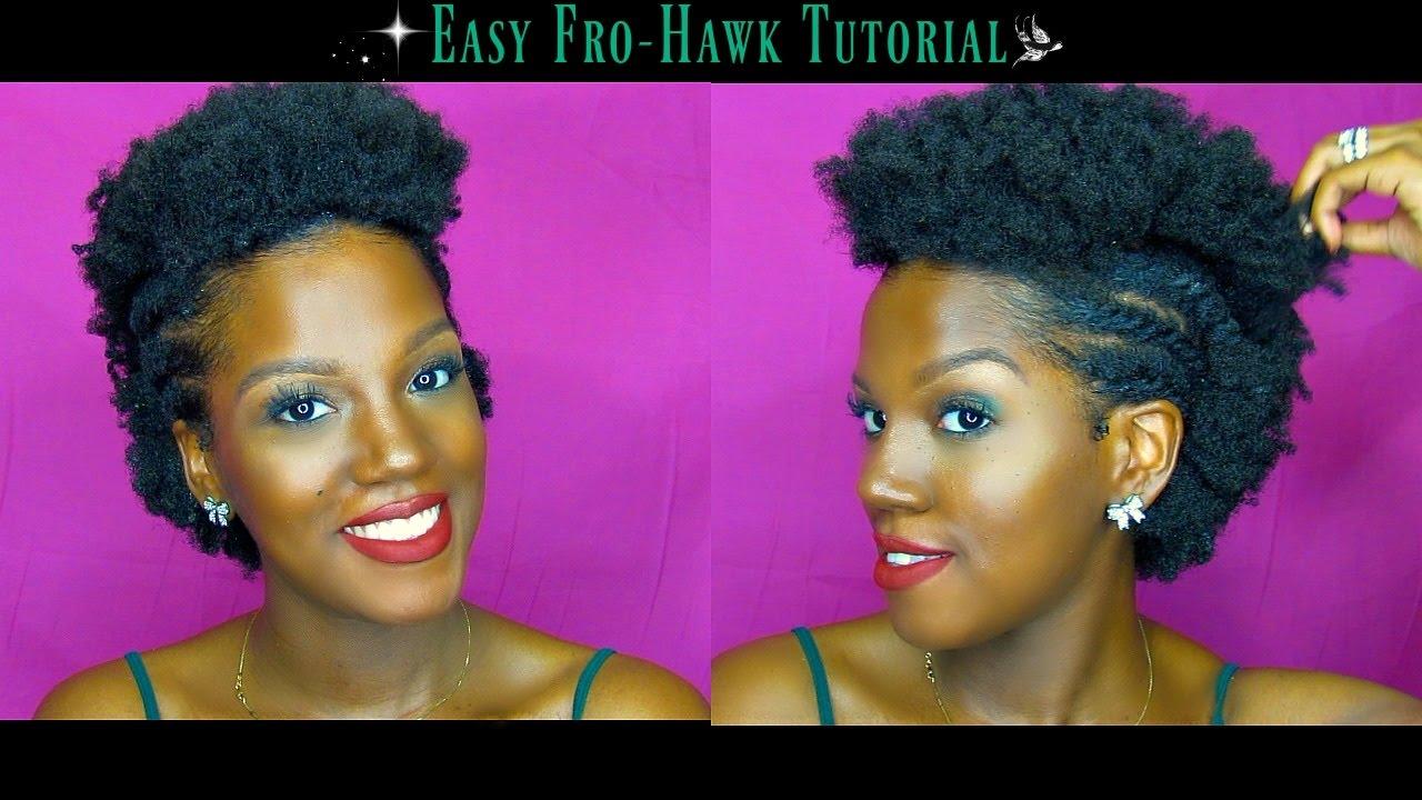 4c Hair Fro Hawk On Short Natural Hair Faithsocial