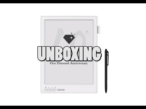 Onyx Boox Max2 Pro Unboxing