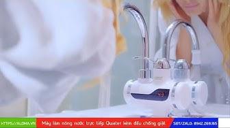 Giới thiệu máy làm nóng nước trực tiếp tại vòi QWater RX-01 kèm đầu chống giật