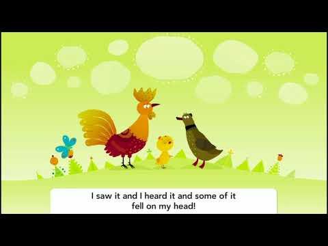 Potawatomi Language KIDS Chicken Little CAPTIONED