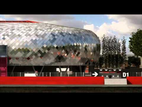 Film Animation Stade du Hainaut