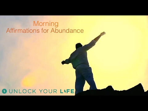 Morning Affirmations for Financial Abundance | Think Yourself Wealthy