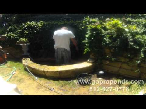 Pump Replacement & Pond Cleaning by GoProPonds.com