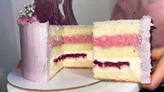 НЕЖНЕЙШИЙ ТОРТ Рецепт пышного бисквита и нежной начинки торта Торт на день рождения моей бабушке