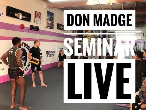 live Don Madge seminar