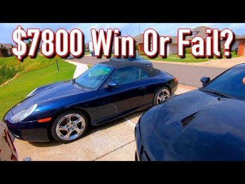 Cheap Copart $7100 Porsche 911 996 Carrera - Big Win or Big Fail?