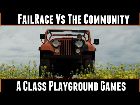 FailRace Vs The Community A Class Playground Games