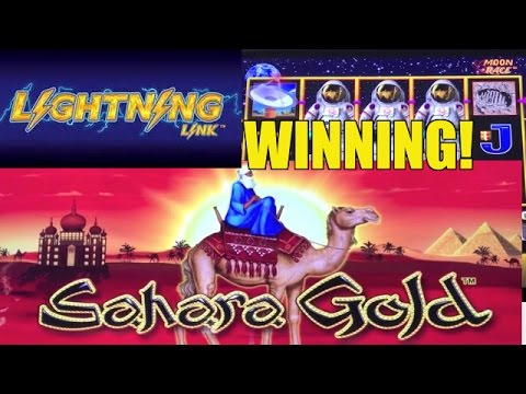 BIG WIN! LIGHTNING LINK SLOT MACHINE BONUS - YouTube