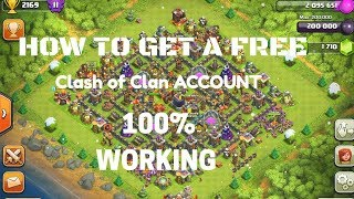 Clash of Clans in TH 11 Account HINDI | Get COC Account Free with proof 2018 - 1000% Guarantee
