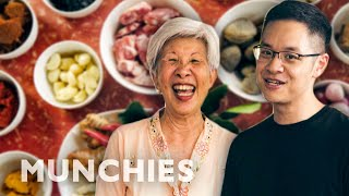 Watch a Michelin Star Chef Cook With His Aunt