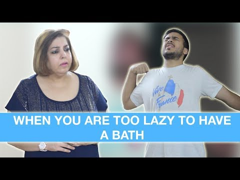 When you are too lazy to have a bath - Super Sindhi | Super Sindhi Comedy