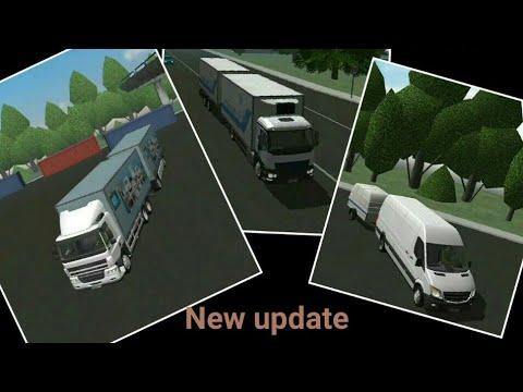 New update 1.10 Cargo transport simulator