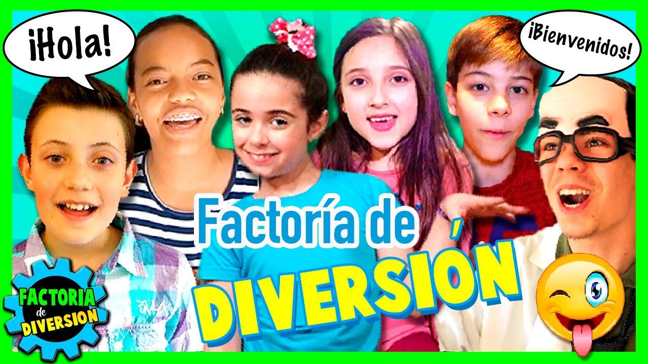 Bienvenidos A Factoria De Diversion Vídeo De Presentación Del Canal Youtube Youtube