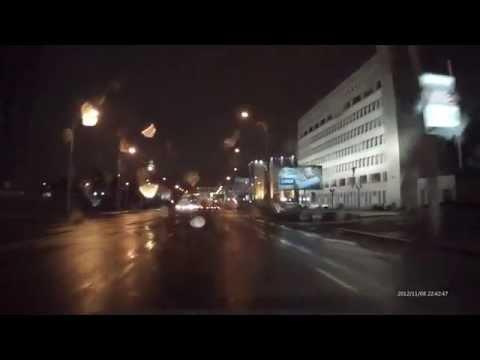 Ночная съемка видеорегистратора SeeMax DVR RG200