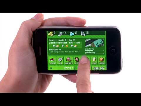 Lemonade Tycoon App - IPhone App Demo By IPhoneAppDemos.tv