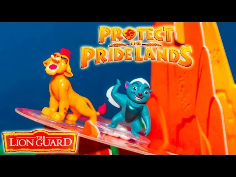 LION GUARD Game Protect The Pride Lands With Kion and Bunga Family Game Video