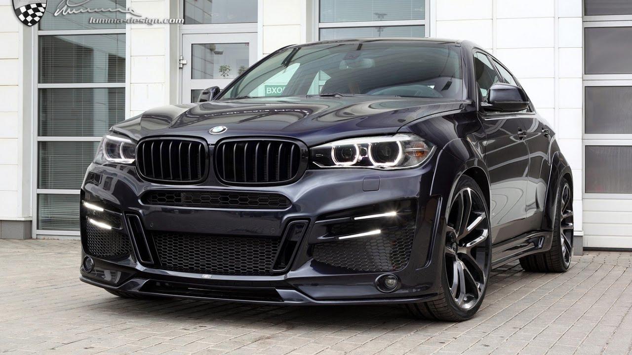 Black Power Bmw X6 M50d Tuning Car Diesel Youtube