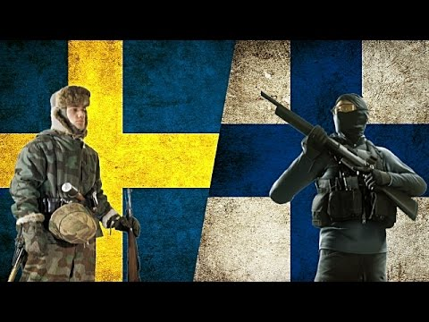 SWEDEN VS FINLAND - Military Power Comparison 2017